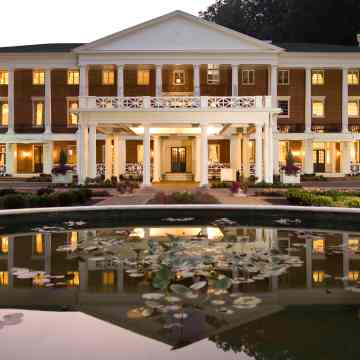 Historic Bedford Springs Resort, Pennsylvania. The  recently reopened