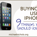 How to Buy a Used iPhone