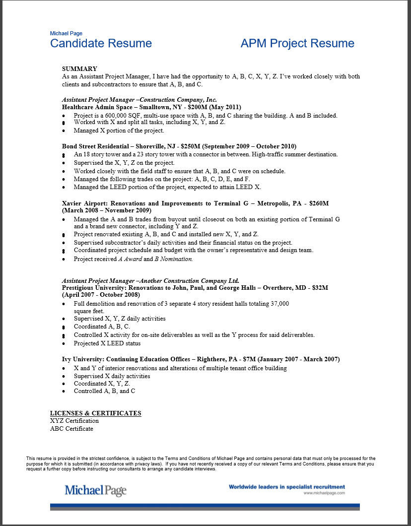 how to write your education on a resume example