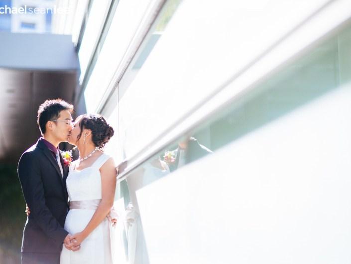 shangri-la vancouver wedding photo