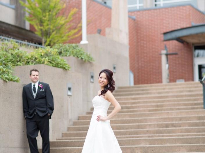 port coquitlam city hall wedding photos