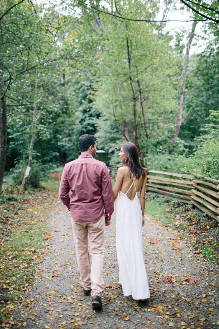 Livia & Ali's Engagement Shoot at UBC