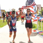Training with Team Red, White & Blue