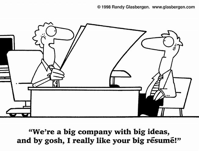 The Résumé Test  Checklist Does Yours Pass? Recruiter Musings