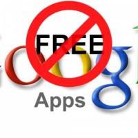 Google Apps Free No More