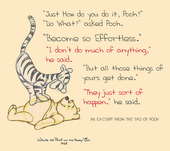 the tao of pooh learning lessons 20 utterly profound winnie-the-pooh quotes to make you smile were born from it have life lessons we can all learn of the tao of pooh as you'll no.