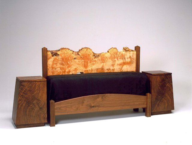 Forrest Bed with nightstands