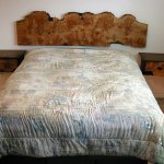 Cluster burl headboard - wall mounted