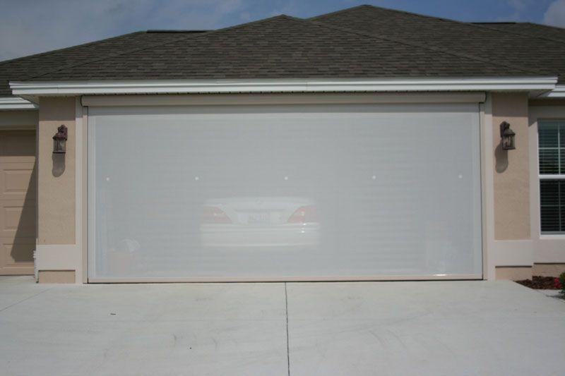 Cozy Roll Up Garage Door Screen Garage Screen Doors Picture The