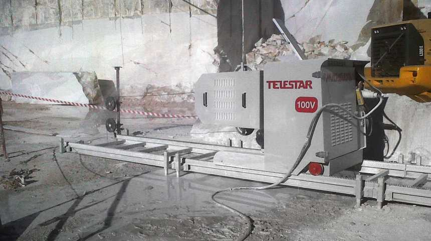 TELESTAR PLUS – Diamond wire quarrying machine