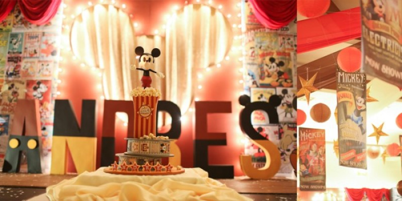 Andres – My (So Far) Best Version Of A Mickey Mouse Party