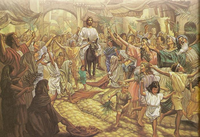 jesus-rides-into-jerusalem-on-a-donkey