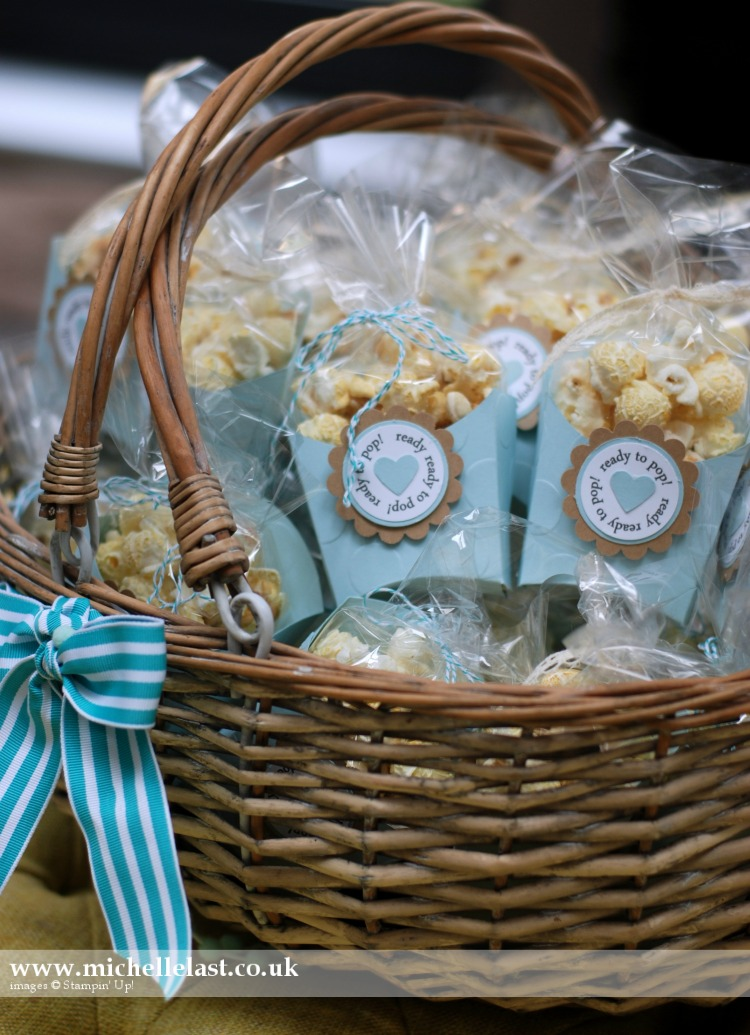 Just Born Baby Gift Ideas : Baby shower favours using stampin up products with
