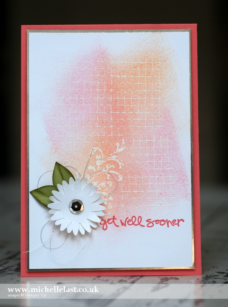 #GDP039 Get Well Card using Stampin Up Supplies