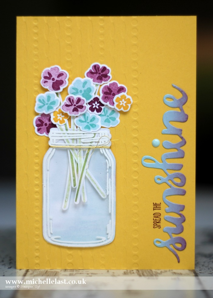 Jar of Love from Stampin Up - #GDP040