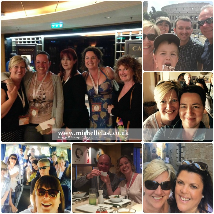 Med Cruise 2016 with Stampin Up