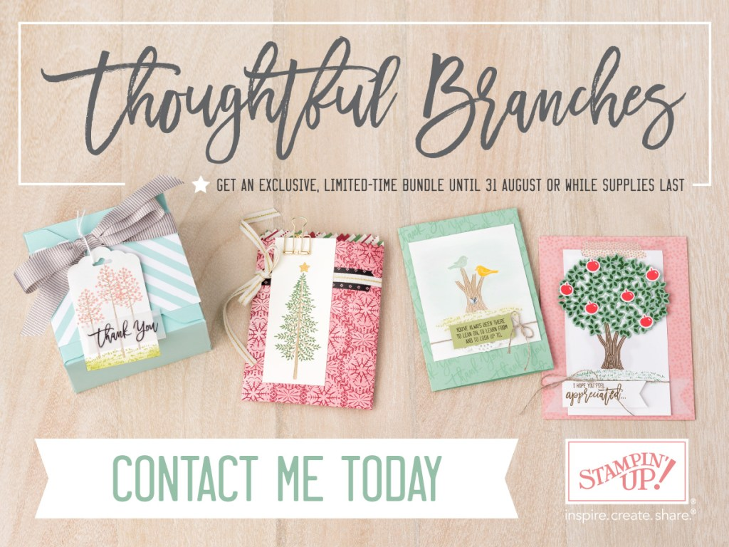 Thoughtful Branches exclusive bundle from Stampin Up