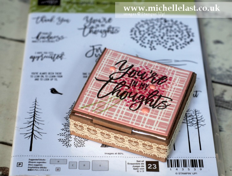 Tealight candle box by Michelle Last
