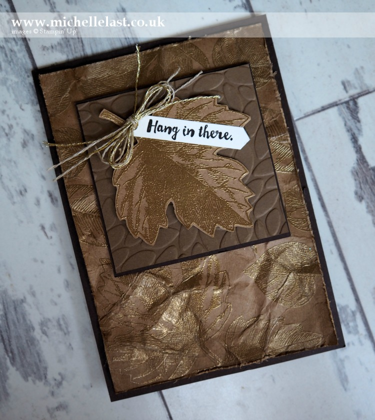 Vintage Leaves from Stampin Up