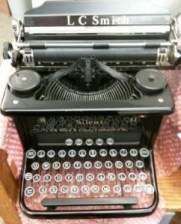 Biddy's typewriter