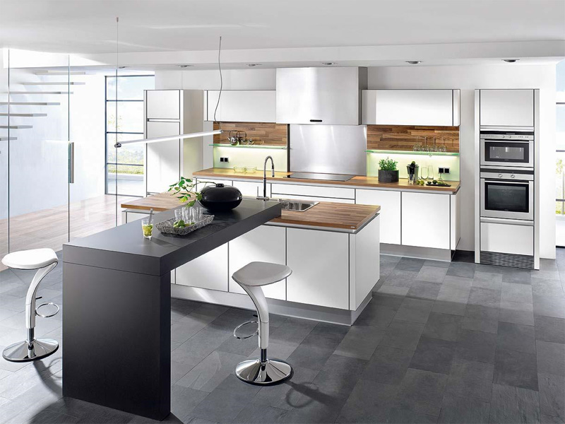 Minimalist Kitchen - If you strive to keep a minimalist kitchen, it - cuisine contemporaine avec ilot