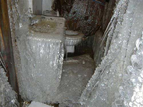 Michigan, Frozen Burst Pipes