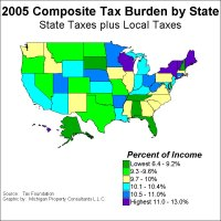 Taxable States Chart - Bing images