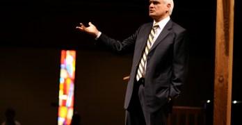 Talk on Human Dignity Packs Hill Auditorium