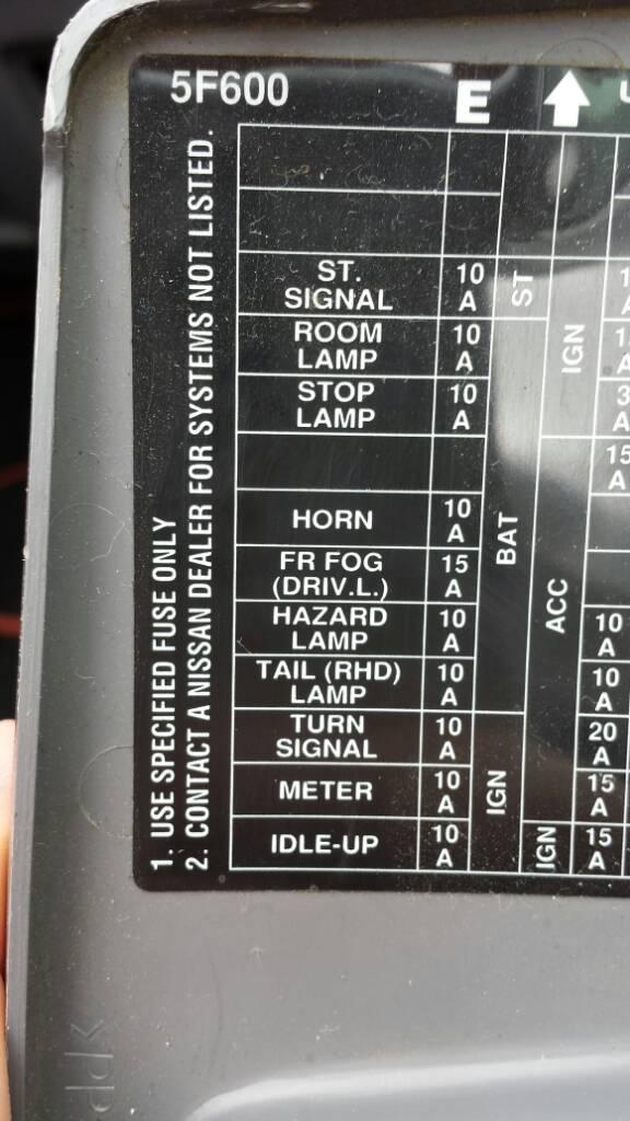 nissan micra k12 fuse box guide
