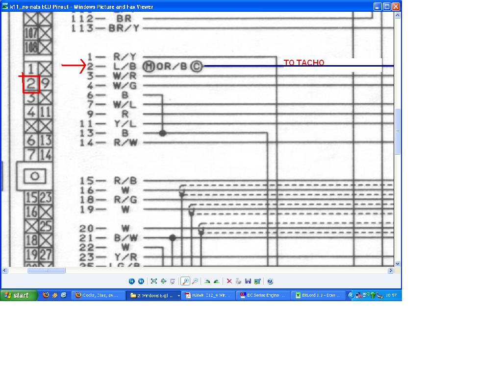 nissan micra ecu wiring diagram