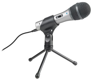 A nice USB connection with this mic