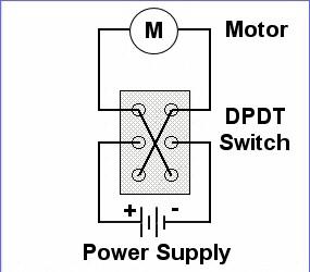 wiring diagram for motor reversing switch