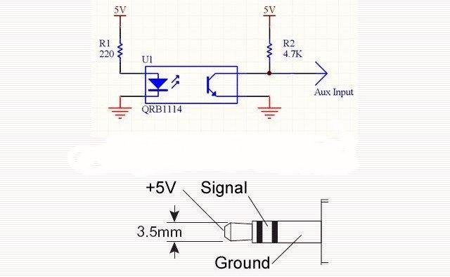 optical interrupter circuit