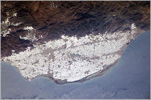 La fecha indica la situación de los campos. Foto: NASA/Visible Earth