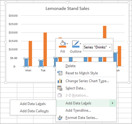 Adding rich data labels to charts in Excel 2013 - Microsoft 365 Blog