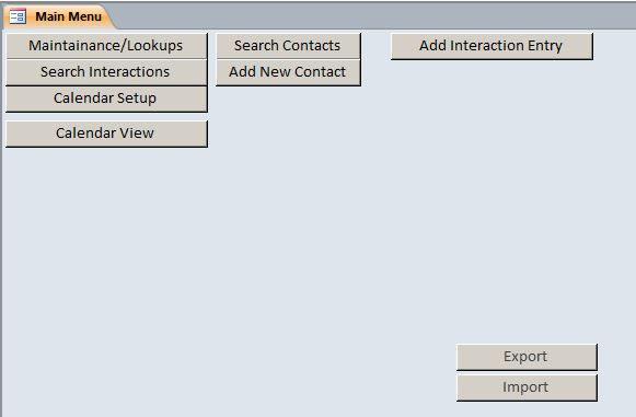 Microsoft Access Call Log\/Interaction Tracking Database Template - how to create call log template