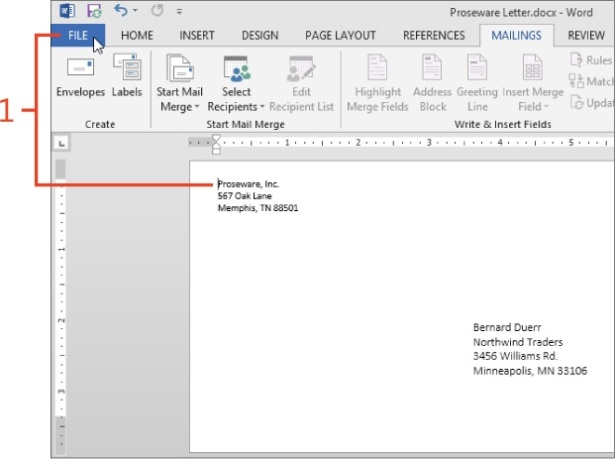 Mailing Paper or Pixels with Microsoft Word 2013 Microsoft Press Store