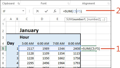 Using Formulas and Functions in Microsoft Excel 2013 Microsoft - creating formulas in excel