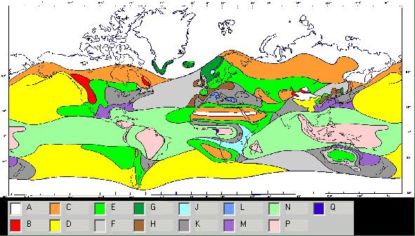 ITU Rain Zones Global Millimeter Wave E-Band V-Band
