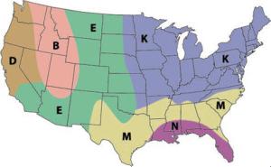 MMW Rain Fade Map for USA E-band V-band