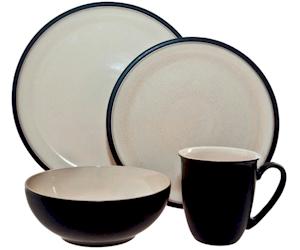 Discontinued Denby Dine Black Dinnerware