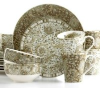 Discontinued 222 Fifth Biscotti Dinnerware