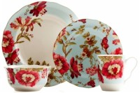 222 Fifth Spring Botanical Dinnerware