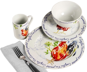Discontinued Tabletops Gallery Coq Au Vin Dinnerware