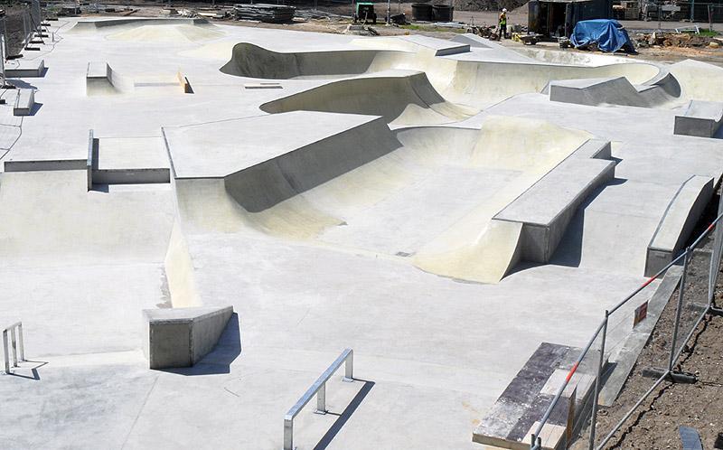 Midas Construction (UK) Skatepark Photo Gallery page 1