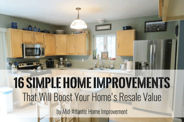 Home Improvements Adding Value Mid Atlantic Home Improvement