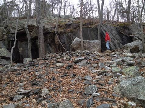 And interesting rock caves along with old quarry sites abound.