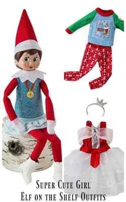 Small Of Elf On The Shelf Girl