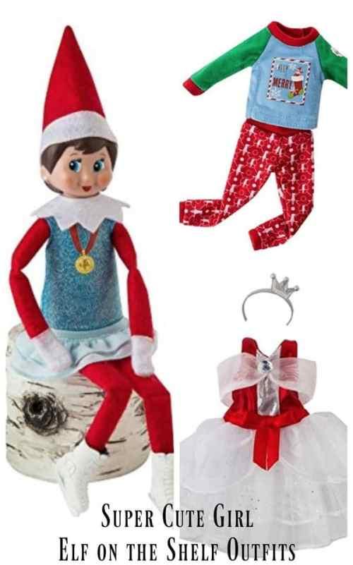 Medium Of Elf On The Shelf Girl