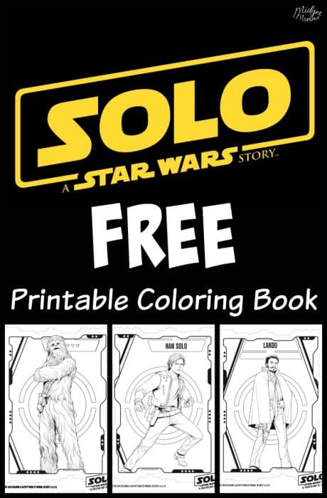 Solo A Star Wars Story Coloring Book Printable \u2022 MidgetMomma